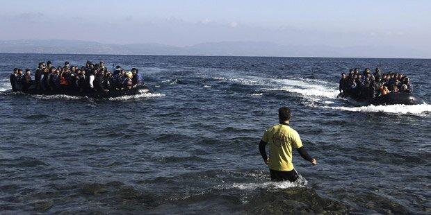 Rechtsextreme attackierten Flüchtlings-Boote
