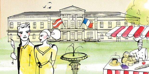 Kulinarisches Gartenfest im Palais Clam Gallas