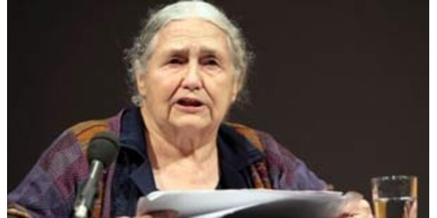 Doris Lessing erhält Literatur-Nobelpreis