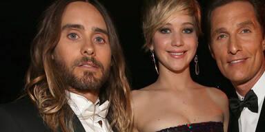 Jared Leto, Jennifer Lawrence