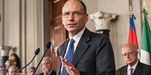 Italien: Letta neuer Premier