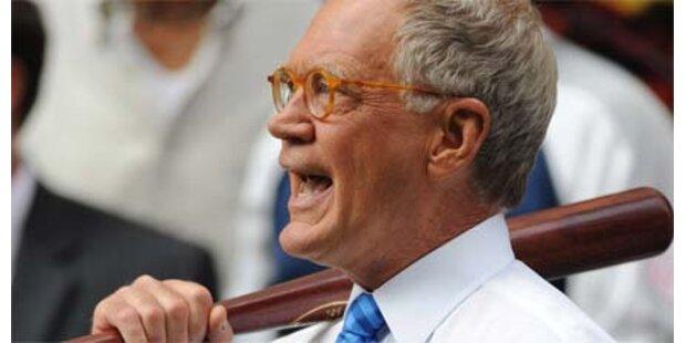 Letterman entschuldigt sich für Affären
