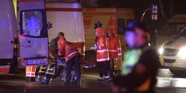 Supermarkt in Riga eingestürzt: 51 Tote