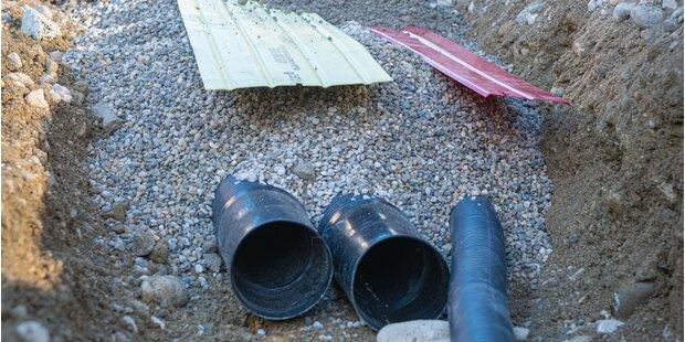 Leitungsbau und Straßensanierung
