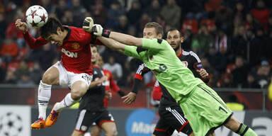 ManUnited deklassiert Bayer Leverkusen