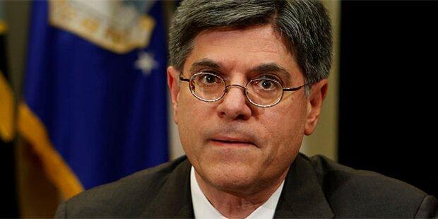 Obama-Stabschef Lew soll neuer Finanzminister werden