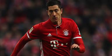 Bayern-Schock: Lewandowski verletzt