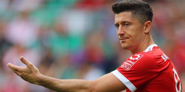 Unzufrieden: Lewy schießt gegen Bayern