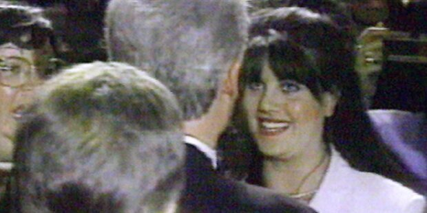 Lewinsky packt über Sex mit Clinton aus