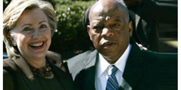 Bürgerrechtler Lewis lässt Clinton sitzen