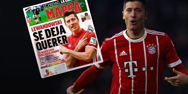 Hammer: Lewandowski bietet sich Real an