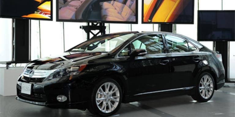 Neues Hybrid-Modell von Lexus
