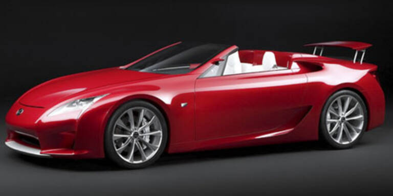 Supersport-Cabrio Lexus LF-A Roadster