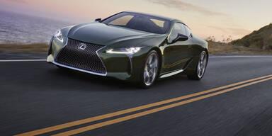 Lexus LC kommt als Limited Edition