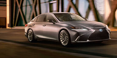 Neuer Lexus ES ersetzt den GS