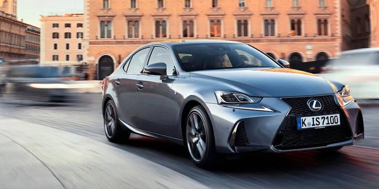 """So gut ist der """"neue"""" Lexus IS 300h"""
