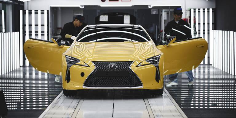 Neuer Lexus LC kommt aus Hightech-Werk