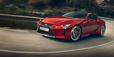Jetzt startet der Lexus LC in Österreich