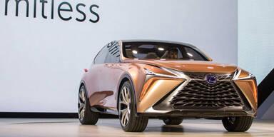 Lexus zeigt spektakuläres Luxus-SUV