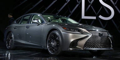 Neuer Lexus LS greift in der Luxusklasse an
