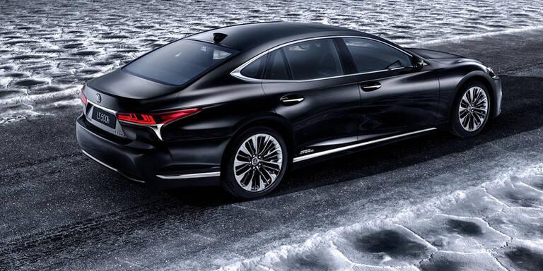 Lexus zeigt den neuen LS 500h