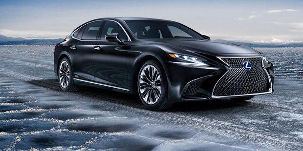 Das ist der neue Lexus LS 500h