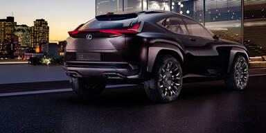 Lexus zeigt mutiges SUV-Coupé