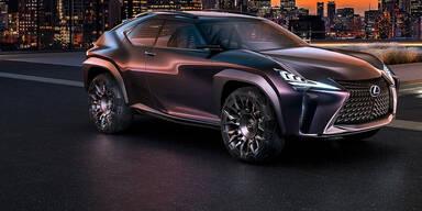 Lexus UX zeigt das Fahren der Zukunft