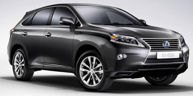 """Das ist der """"neue"""" Lexus RX450h"""