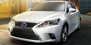 Lexus verpasst dem CT 200h ein Facelift