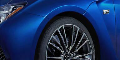 Lexus zeigt ein neues F-Modell