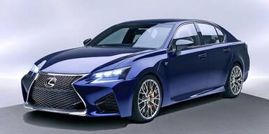 Lexus GS F greift M5 und RS 7 an