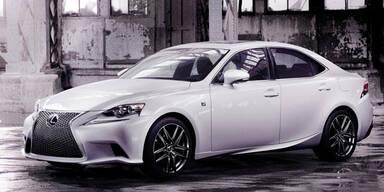 So sieht der neue Lexus IS aus