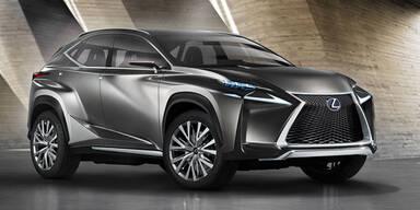 Lexus Kompakt-SUV im Batmobil-Look