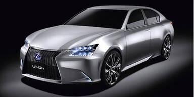 So sieht die Lexus Hybrid-Studie LF-Gh aus