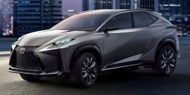 Lexus NX greift X3, X4, Q5 und Macan an