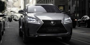 So fährt der Lexus NX ohne Hybrid-Antrieb