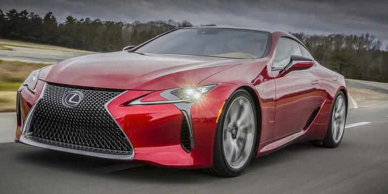 Lexus LC 500 sorgt für Furore