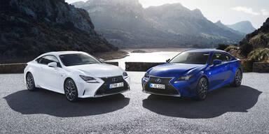 Lexus RC wird endlich leistbar