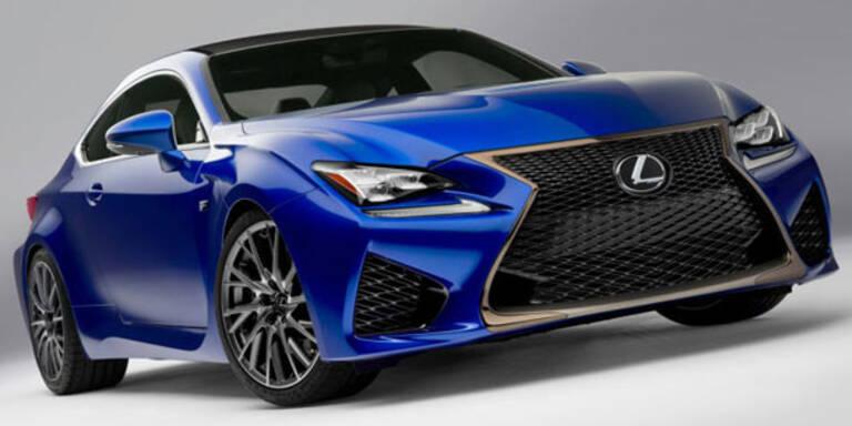 So kommt der neue Lexus RC F
