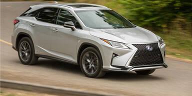 Lexus hat 1 Million Hybridautos verkauft