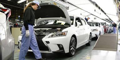 Panne zwingt Toyota zu Produktionsstopp