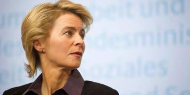 Bundesarbeitsministerin Ursula von der Leyen
