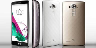 LG G4 greift Galaxy S6 & Co. an