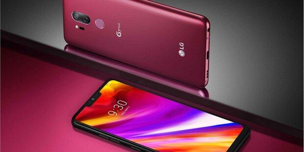 LG greift mit dem G7 ThinQ an