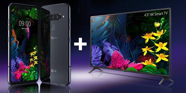 LG schenkt Smartphone-Käufern einen 4K-TV