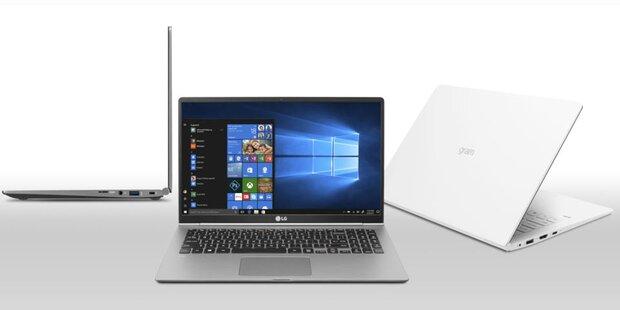 LG bringt Laptops mit 1 Tag Laufzeit