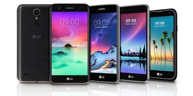 LG greift mit neuer K-Reihe an