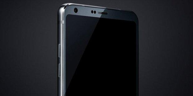 Mega-Leak: Fotos und Infos vom LG G6