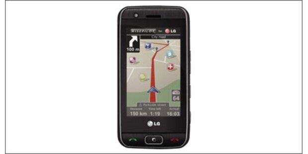 GPS-Handys - Gefahr für Navi-Hersteller